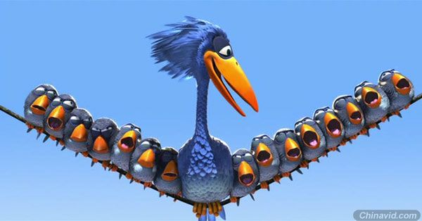 pixar经典动画短片《for