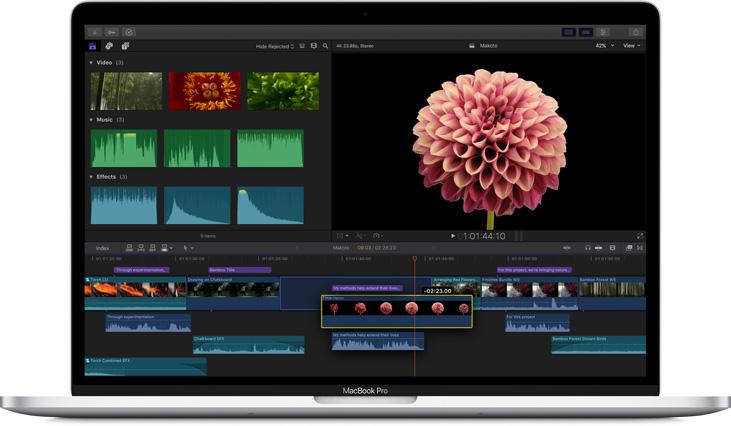 苹果视频剪辑软件 Final Cut Pro X 10.4.7+Motion5.4.4+Compressor4.4.5 三件套