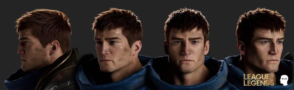 拳头设计师晒《英雄联盟》2020赛季CG动画人物3D模型