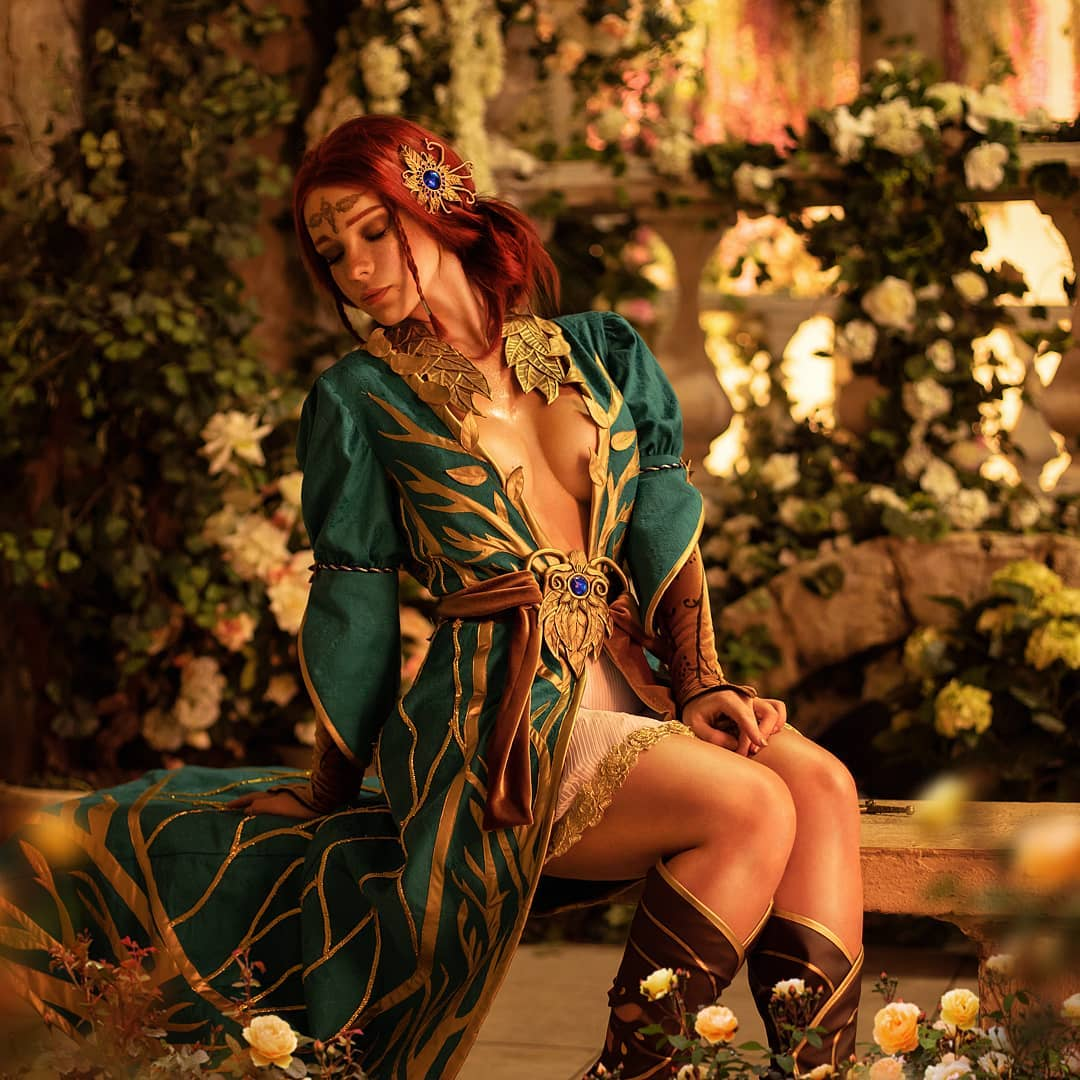 俄罗斯美女Coser Irine Meier日式和服希里形象欣赏