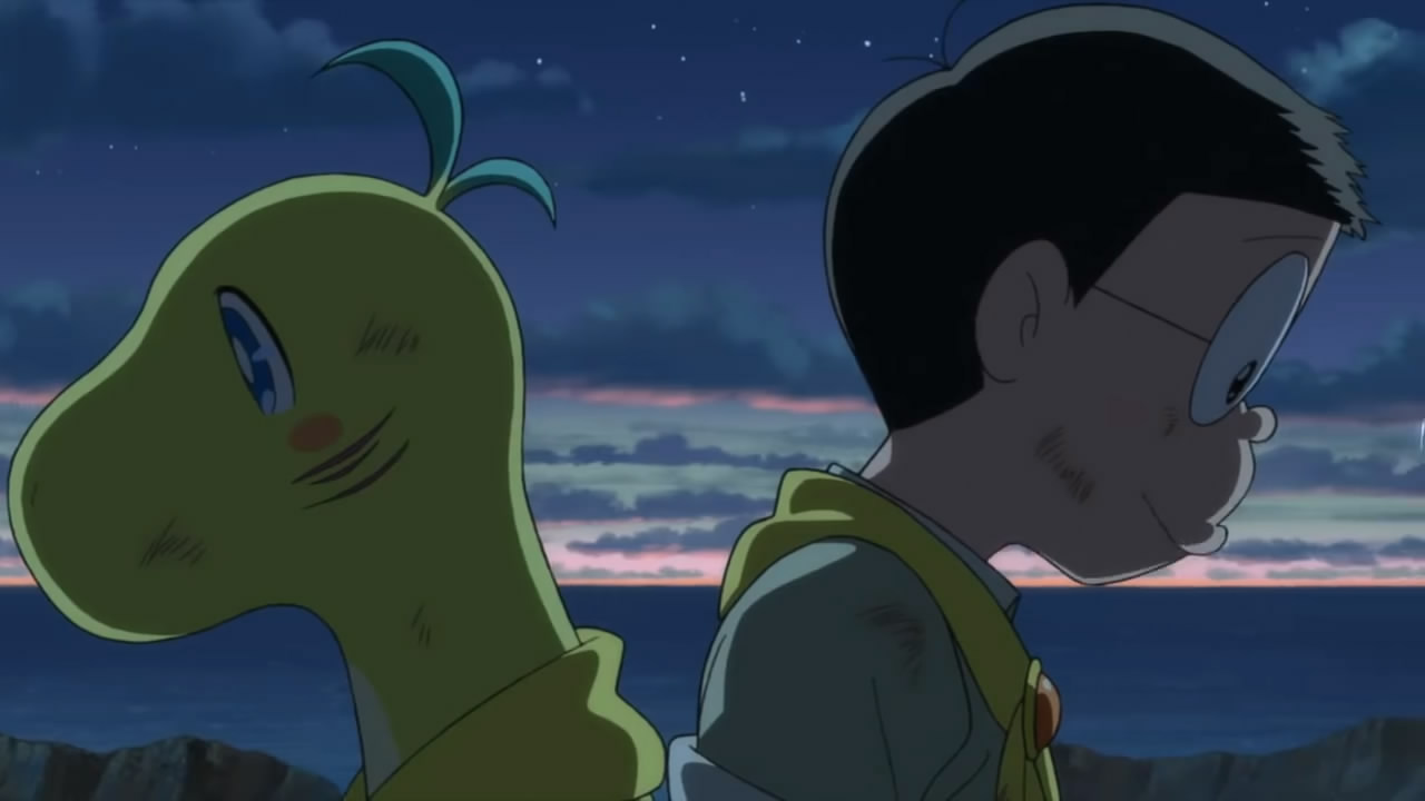 《哆啦A梦:大雄的新恐龙》动画新PV发布 画面温馨