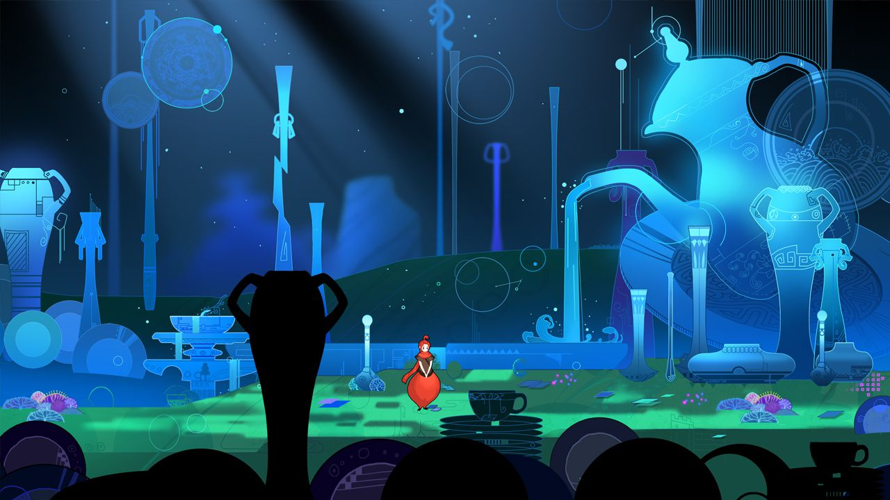 新国风冒险解谜游戏《重明鸟》场景及角色欣赏