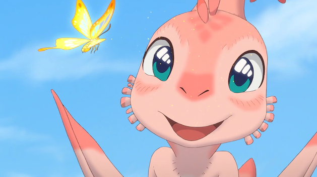 中日合制动画电影《你好霸王龙》新预告 初夏正式上映