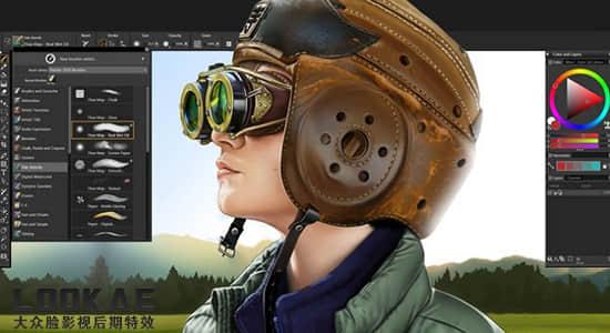 数字艺术二维绘图软件 Corel Painter 2020 v20.1.0.285 Win/Mac中文/英文破解版