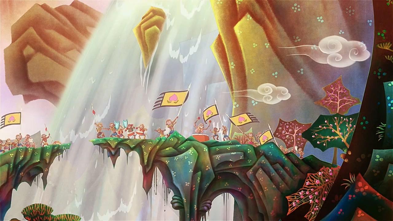 孙悟空大战哪吒:120帧版《大闹天宫》片段公开