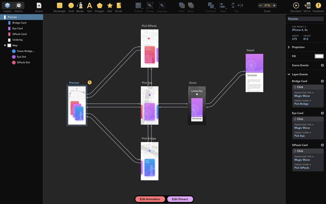 Drama 2.0.7 原型交互动画和设计三合一软件