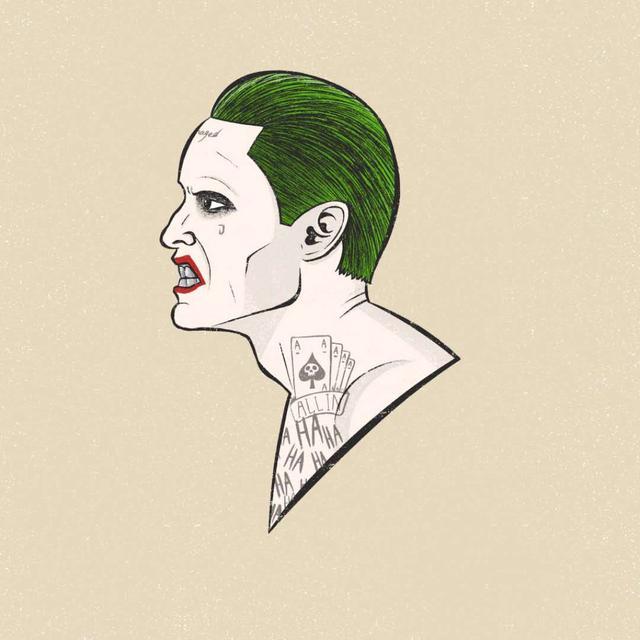 DC粉必入 英国艺术家PedroDemetriou 20款小丑头像倾情推荐