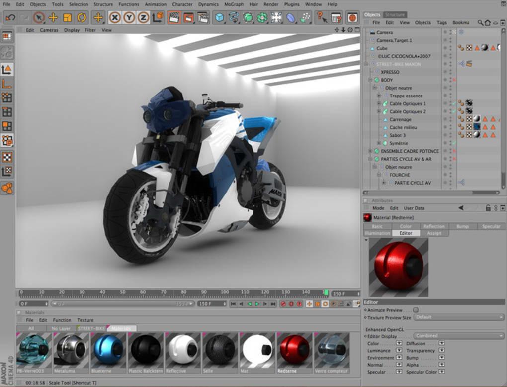 Cinema 4D Mac 强大的3D绘图建筑模具软件 vS22.118