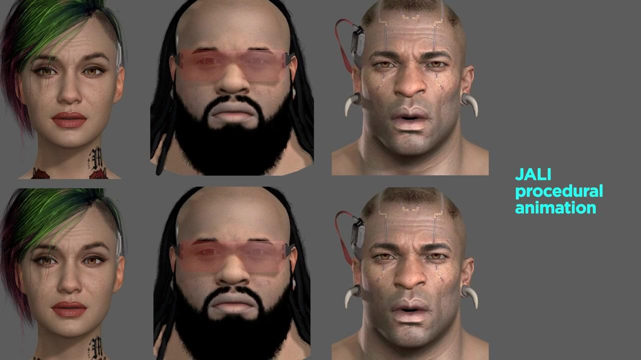 《赛博朋克2077》角色使用各种语言都能实现口型同步
