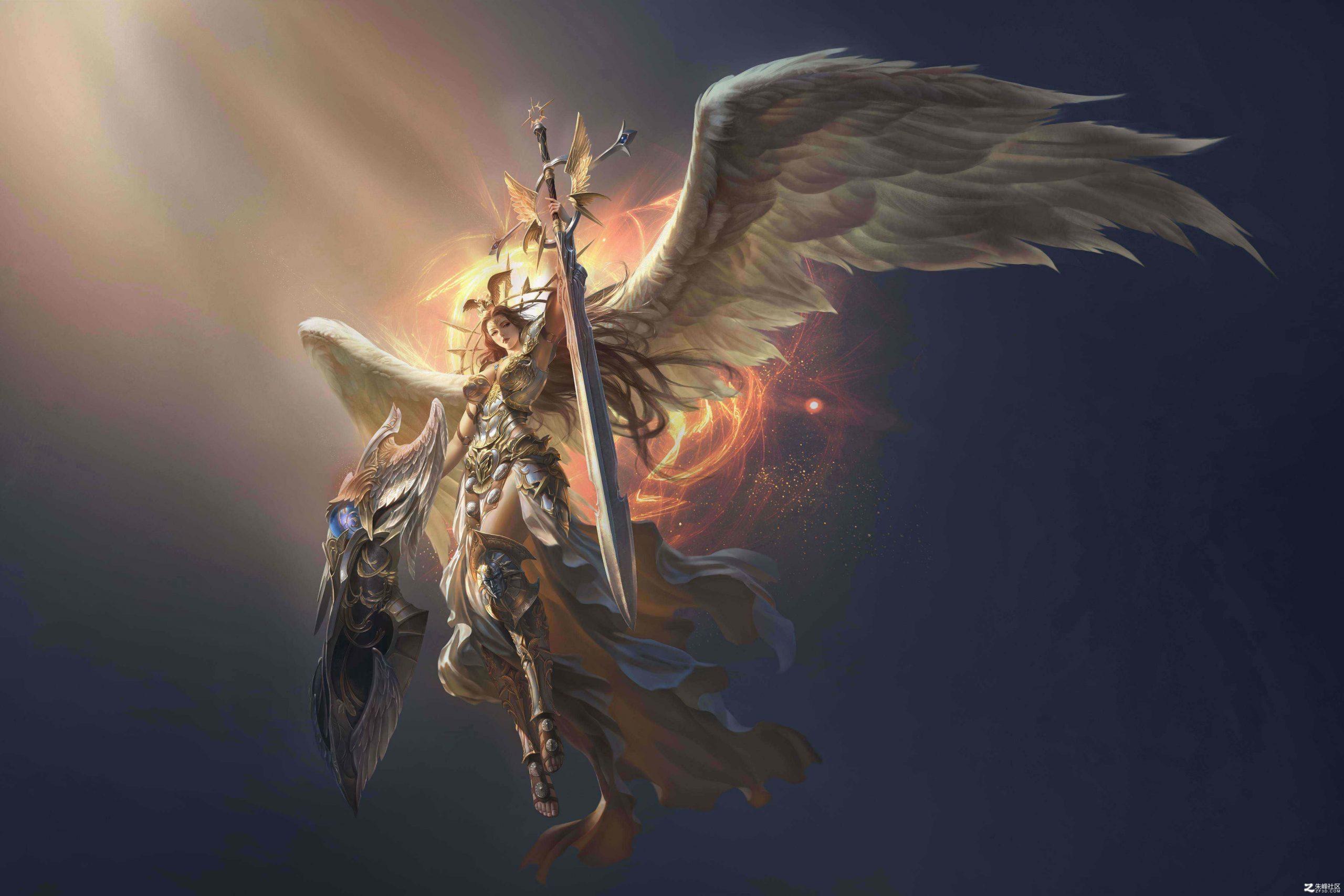 女神联盟游戏CG原画超高清美女设定角色人物
