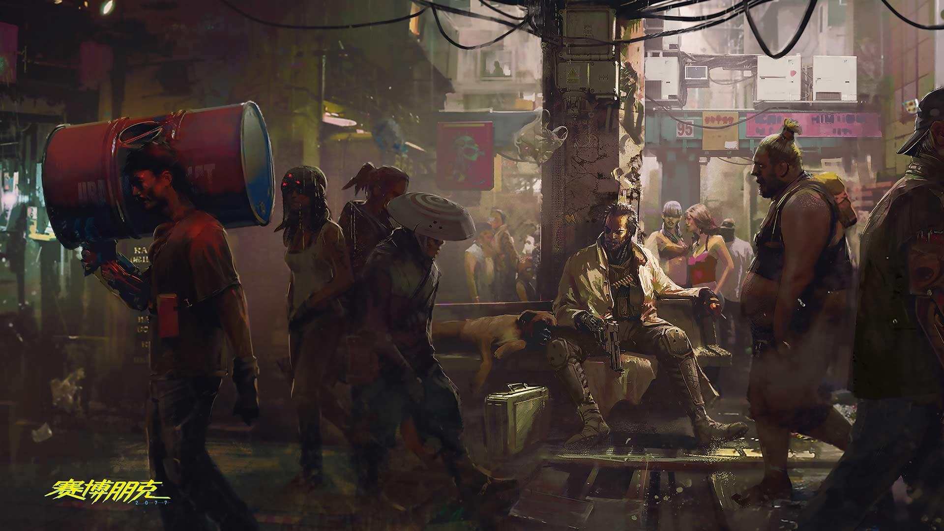 《赛博朋克2077》原画欣赏