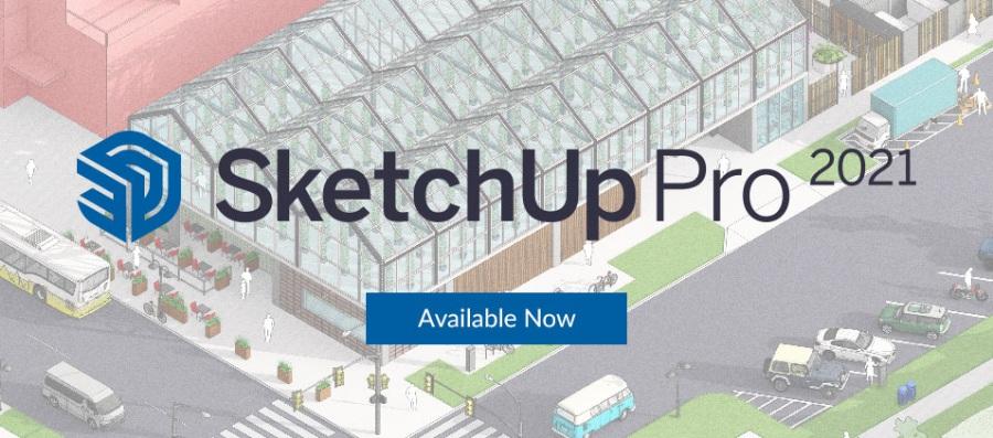 草图大师SketchUp Pro 2021 v21.0.339 破解版
