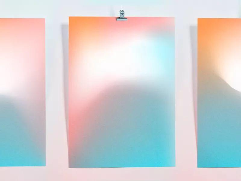 渐变色的5个趋势及使用方法