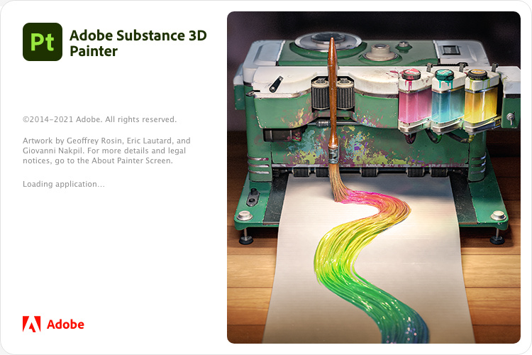 Adobe Substance 3D 系列应用软件开心版 嬴政天下大神@vposy制作